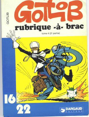 RUBRIQUE-À-BRAC (16/22) - Tome 4 (II)  - Tome 8 (91) - Grand format