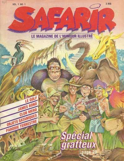 SAFARIR - Vol 1 - No 1 - Spécial Gratteux  - Tome 1 (1) - Grand format