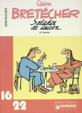 SALADES DE SAISON (16/22) - (2e partie)  - Tome 2 (49) - Grand format