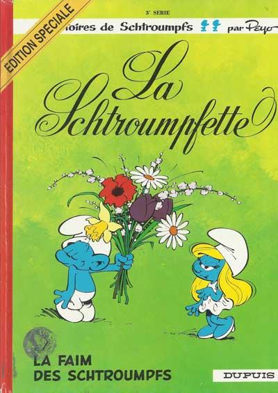 SCHTROUMPFS (LES) - La schtroumpfette  - Tome 3 (ES) - Grand format