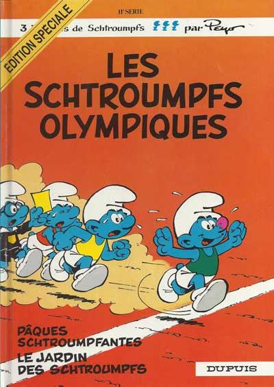 SCHTROUMPFS (LES) - Les schtroumpfs olympiques  - Tome 11 (ES) - Grand format