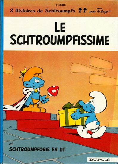 SCHTROUMPFS (LES) - Le schtroumpfissime (+ schtroumpfonie en ut)  - Tome 2 (a) - Grand format