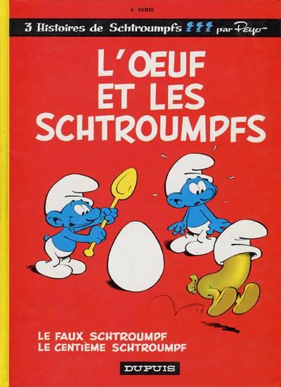 SCHTROUMPFS (LES) - L'oeuf et les schtroumpfs  - Tome 4 - Grand format