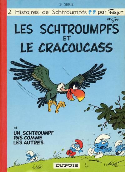 SCHTROUMPFS (LES) - Les schtroumpfs et le cracoucass  - Tome 5 - Grand format