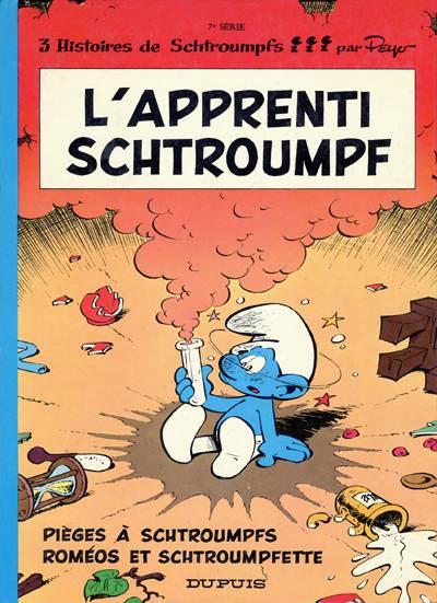SCHTROUMPFS (LES) - L'apprenti schtroumpf  - Tome 7 (a) - Grand format