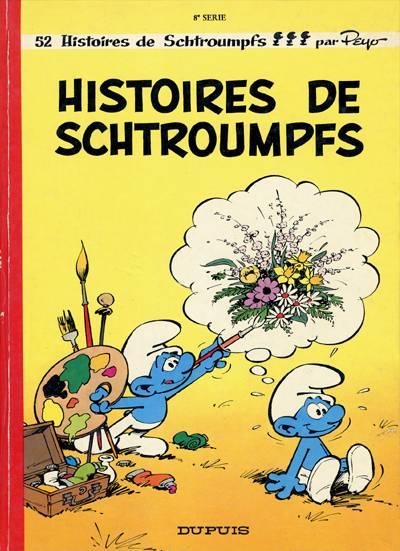 SCHTROUMPFS (LES) - Histoires de schtroumpfs  - Tome 8 (b) - Grand format