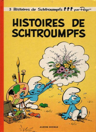 SCHTROUMPFS (LES) - Histoires de schtroumpfs / Cosmoschtroumpf  - Tome 8 (FL) - Grand format