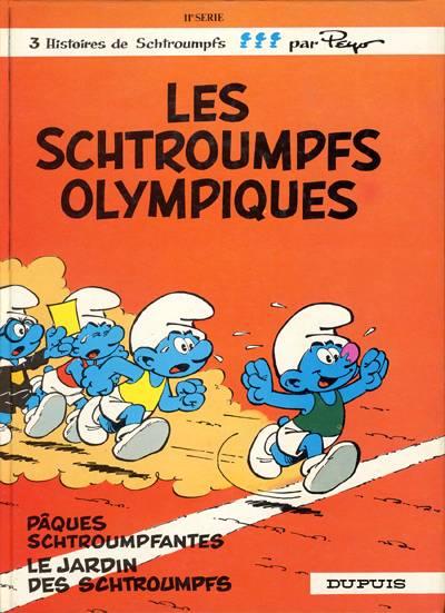 SCHTROUMPFS (LES) - Les schtroumpfs olympiques  - Tome 11 - Grand format