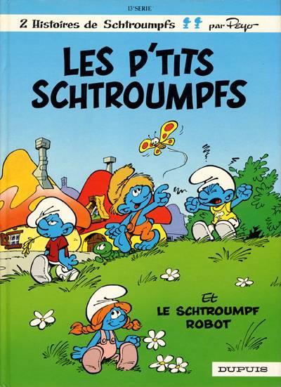 SCHTROUMPFS (LES) - Les p'tits schtroumpfs  - Tome 13 - Grand format