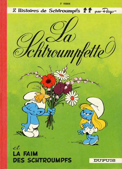 SCHTROUMPFS (LES) - La schtroumpfette  - Tome 3 (c) - Grand format