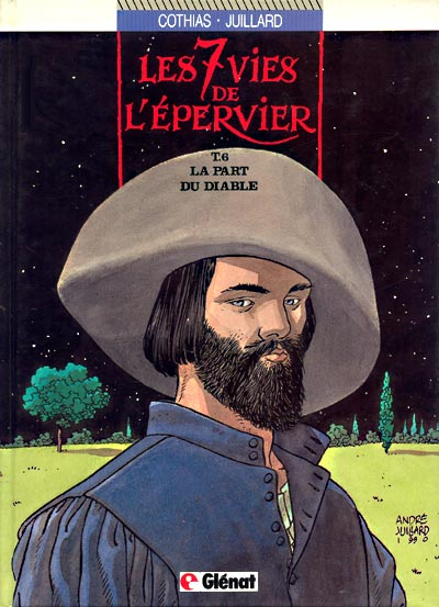 7 VIES DE L'EPERVIER (LES) - La part du diable  - Tome 6 - Grand format