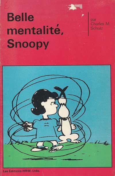 SNOOPY (HRW) - Belle mentalité, Snoopy (HS) - Moyen format