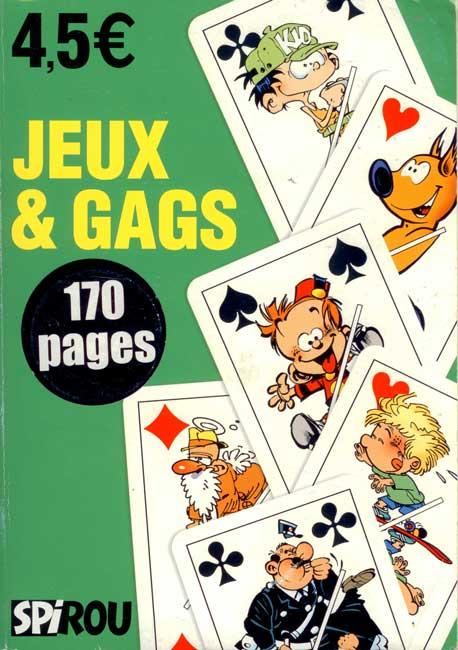 SPIROU (JEUX) - Jeux et gags  - Tome 13 - Grand format