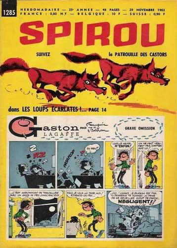 Spirou (revue) La patrouille des castors (1285)