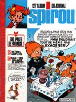 (RECUEIL) SPIROU (ALBUM DU JOURNAL) - Spirou album du journal  - Tome 127 - Grand format