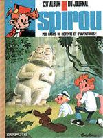 (RECUEIL) SPIROU (ALBUM DU JOURNAL) - Spirou album du journal  - Tome 128 - Grand format