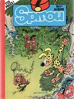 (RECUEIL) SPIROU (ALBUM DU JOURNAL) - Spirou album du journal  - Tome 163 - Grand format