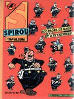 (RECUEIL) SPIROU (ALBUM DU JOURNAL) - Spirou album du journal  - Tome 176 - Grand format