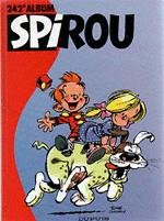 (RECUEIL) SPIROU (ALBUM DU JOURNAL) - Spirou album du journal  - Tome 242 - Grand format