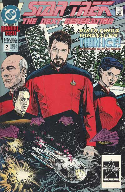 STAR TREK: THE NEXT GENERATION ANNUAL - Riker finds himself on thin ice !  - Tome 2 - Moyen format
