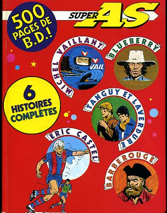 (RECUEIL) SUPER AS - Super AS 6 histoires complètes  - Tome 1 - Grand format