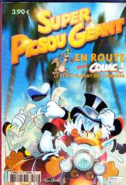 SUPER PICSOU GÉANT - Numéro 122  - Tome 122 - Grand format