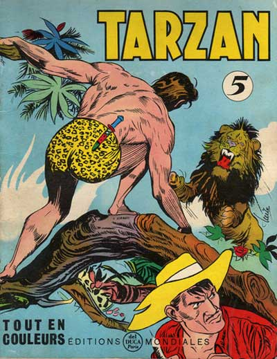 TARZAN (EDITIONS MONDIALES) - Tome 05  - Tome 5 - Grand format