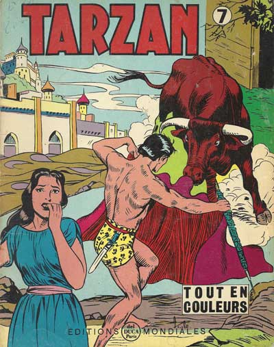 TARZAN (EDITIONS MONDIALES) - Tome 07  - Tome 7 - Grand format
