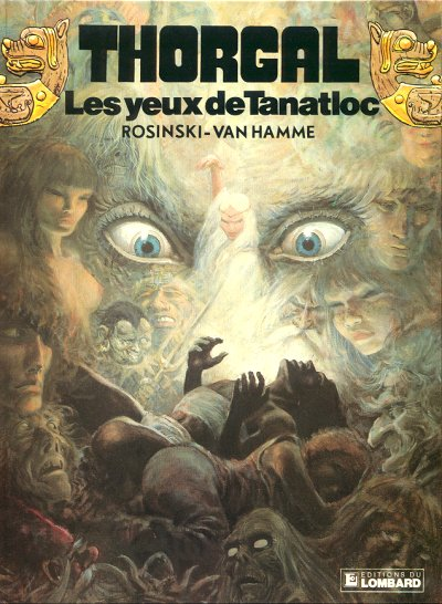 THORGAL - Les yeux de Tanatloc  - Tome 11 - Grand format