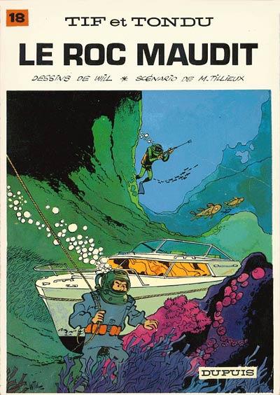 TIF ET TONDU - Le roc maudit  - Tome 18 - Grand format