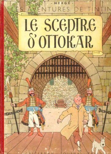 TINTIN (HISTORIQUE) - Le sceptre d'Ottokar  - Tome 8 (B33) - Grand format