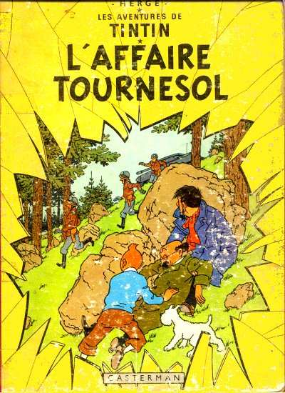 TINTIN (HISTORIQUE) - L'affaire Tournesol  - Tome 18 (B42) - Grand format