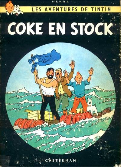 TINTIN (HISTORIQUE) - Coke en stock  - Tome 19 (B35) - Grand format