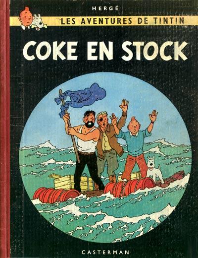 TINTIN (HISTORIQUE) - Coke en stock  - Tome 19 (B30) - Grand format