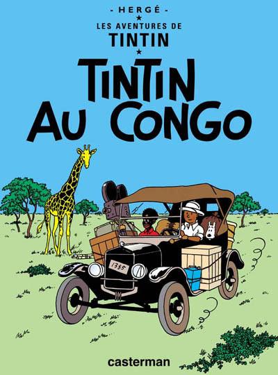 TINTIN - Tintin au Congo  - Tome 2 (C6) - Grand format