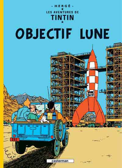TINTIN - Objectif lune  - Tome 16 (C3) - Grand format