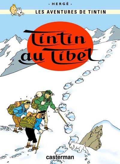 TINTIN - Tintin au Tibet  - Tome 20 (C5) - Grand format