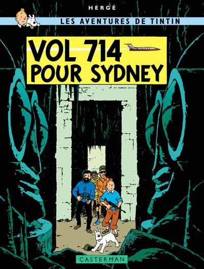 TINTIN (HISTORIQUE) - Vol 714 pour Sydney  - Tome 22 (C6) - Grand format