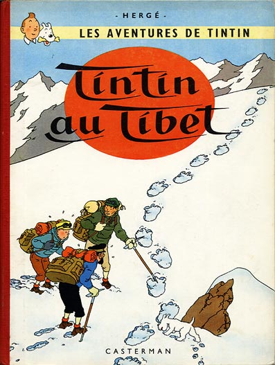 TINTIN (HISTORIQUE) - Tintin au Tibet  - Tome 20 (B30) - Grand format
