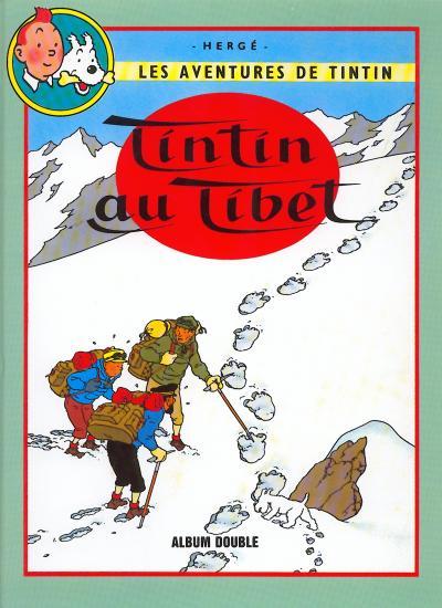 TINTIN (FRANCE LOISIRS) - Tintin au Tibet / Les bijoux de la Castafiore  - Tome 10 - Grand format