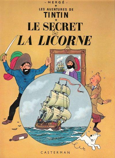 TINTIN (HISTORIQUE) - Le secret de la licorne  - Tome 11 (C8) - Grand format