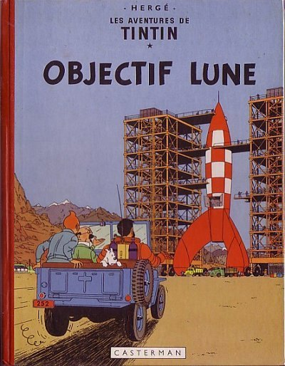 TINTIN (HISTORIQUE) - Objectif lune  - Tome 16 (B32) - Grand format
