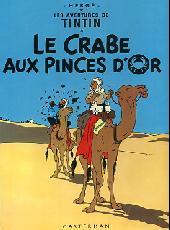 TINTIN (HISTORIQUE) - Le crabe aux pinces d'or  - Tome 9 (B35) - Grand format