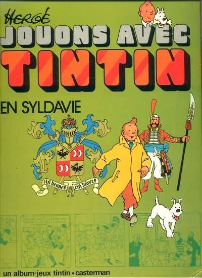 TINTIN - DIVERS - Jouons avec Tintin en Syldavie (J1) - Grand format