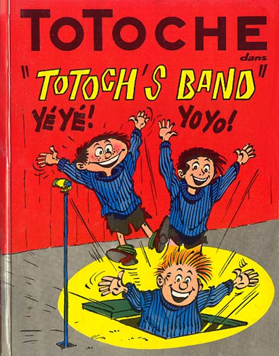 TOTOCHE - Totoch's band  - Tome 3 - Grand format