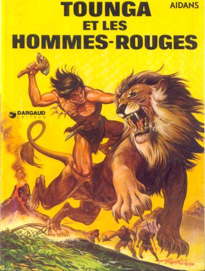 TOUNGA (CARTONNÉE) - Et les hommes-rouges  - Tome 2 - Grand format
