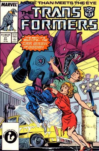 Transformers (The)  -  Car Wash of Doom  - Tome 31