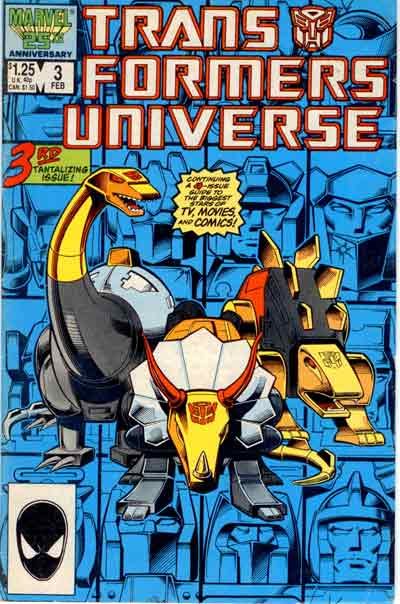 Transformers Universe (1986) 3rd tantalizing issue  - Tome 3