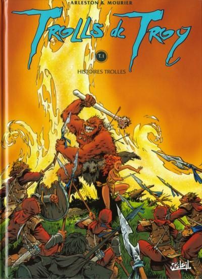 TROLLS DE TROY - Histoires trolles  - Tome 1 - Grand format
