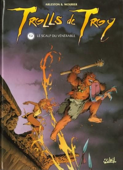 TROLLS DE TROY - Le scalp du vénérable  - Tome 2 (a) - Grand format